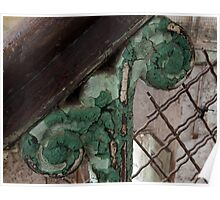 old prison handrail Poster