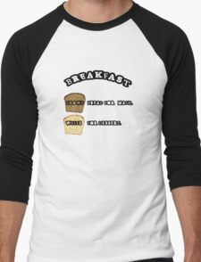 Breakfast Men's Baseball ¾ T-Shirt