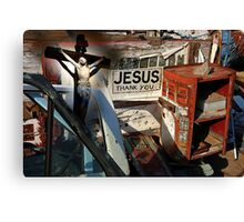 Salvation, The Greatest Gift Canvas Print