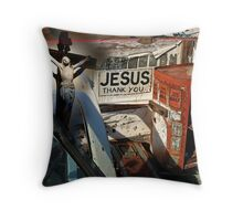 Salvation, The Greatest Gift Throw Pillow