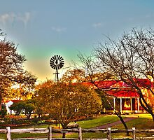 Edenvale Homestead at Dawn in HDR by wt9bind