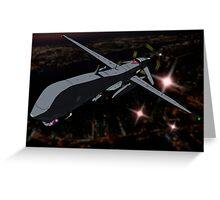Predator Drone Greeting Card