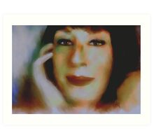 Angelica my way / hollywood icon  Art Print