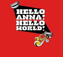 Hello Anna! Womens Fitted T-Shirt