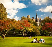 Cardiff Castle - Bute Park by Stanley Tjhie