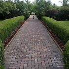 Brick Sidewalk by KennethWright