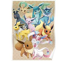 Eeveelution Dream Team Poster
