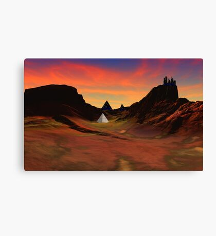 Trantis Pass Sunset Canvas Print