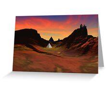 Trantis Pass Sunset Greeting Card