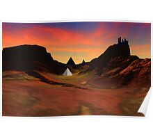 Trantis Pass Sunset Poster