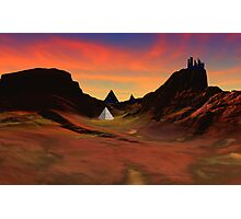 Trantis Pass Sunset Photographic Print