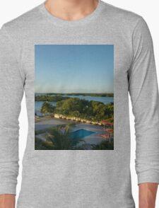 an unbelievable Belize landscape Long Sleeve T-Shirt