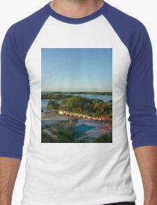 an unbelievable Belize landscape Men's Baseball ¾ T-Shirt