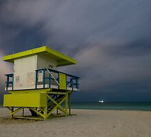LifeGuard Hut by Rachelle Vance