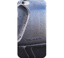 Ducati Diavel Carbon Black Pre-Wash Spray iPhone Case/Skin