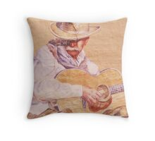 Stetson in Lower Downtown Throw Pillow