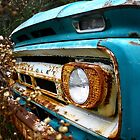 Blue Rusty Abandoned by Tara Michelle Babb