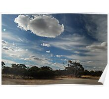 An outback sky Poster