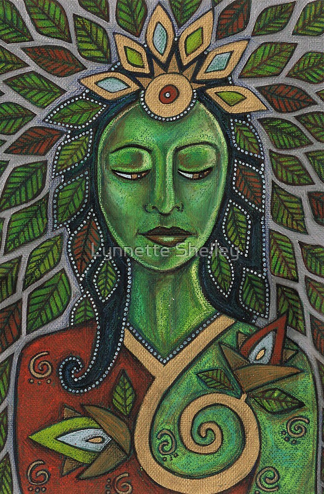 Gaia by Lynnette Shelley