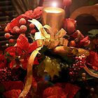 """""""Lighting The Christmas Candle"""" by franticflagwave"""
