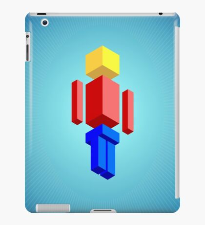 PixelFigs Assemble! iPad Case/Skin