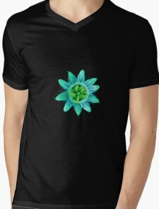 Passion in Green Mens V-Neck T-Shirt