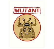 Mutant Logo Art Print