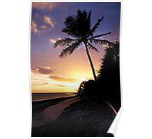 Heron Island Sunrise - Australia Poster