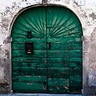 The Green Door by martinilogic