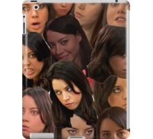 April Ludgate Collage iPad Case/Skin