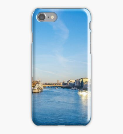 View from Tower Bridge iPhone Case/Skin