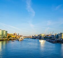 View from Tower Bridge by Chris Thaxter