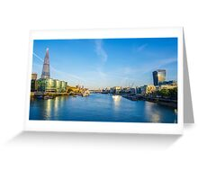 View from Tower Bridge Greeting Card