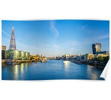 View from Tower Bridge Poster
