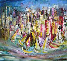Around the Buoys by Wendy Eriksson