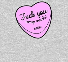 Fuck You Very Much Womens Fitted T-Shirt