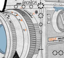 Bronica Sticker