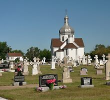 Holy Trinity Ukrainian Catholic church, Smoky Lake, AB by Darbs