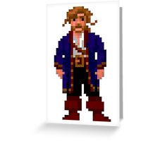 Guybrush Treepwood - Monkey Island Greeting Card