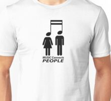 Music and people Unisex T-Shirt
