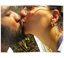 Heartfelt Loving Kisses Poster