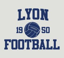 Lyon Football Athletic College Style 2 Gray by Toma-51