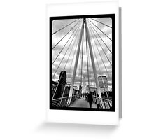 Millennium Bridge Greeting Card