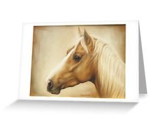 Palomino Alert Greeting Card