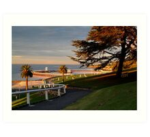 Eastern Beach Geelong. Art Print