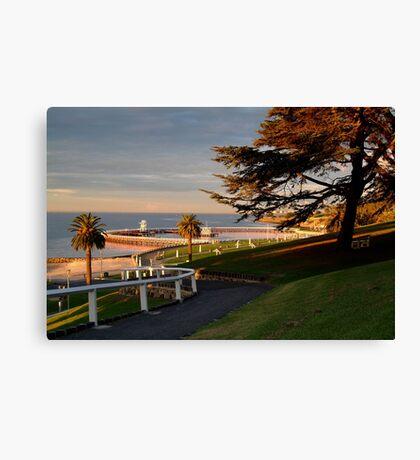 Eastern Beach Geelong. Canvas Print
