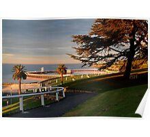 Eastern Beach Geelong. Poster