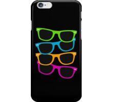 Retro sunglasses iPhone Case/Skin