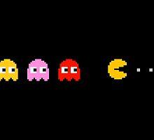 Pac Man by hellolen