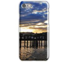 Sunset over Southbank jetty iPhone Case/Skin